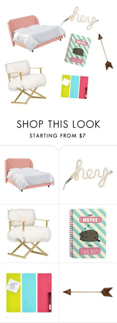 """My dream doorm"" by cara-lou on Polyvore featuring interior, interiors, interior design, home, home decor, interior decorating, Pusheen and WALL"