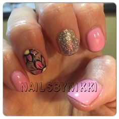 Flower nails #NAISBYNIKKI