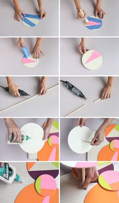 wall art diy // how to make a (colorful) wood cloud from scratch