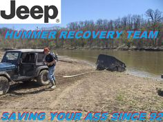 Jeep Hummer Recovery Vehicle...