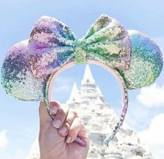 Eat Your Way Through Disneyland And We'll Give You Some Minnie Ears To Wear Disney Minnie Mouse Ears, Diy Disney Ears, Disney Diy, Disney Crafts, Disney Trips, Disney Magic, Disney Cute, Disney Style, Disney Rapunzel