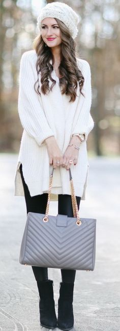 B+W Winter Outfit