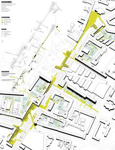 fourth ecology 03 - kick office Masterplan Architecture, Architecture Panel, Architecture Graphics, Architecture Drawings, Concept Architecture, Architecture Diagrams, Architecture Portfolio, Urban Design Concept, Urban Design Diagram
