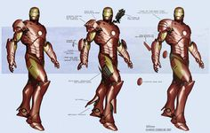 Iron Man concept art by Adi Granov *