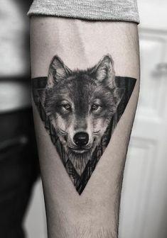 197 Melhores Imagens De Tatuagens De Lobos Lobo Tatuagem
