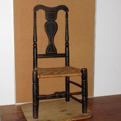american period queen anne furniture | Details about A GREAT EARLY 18TH C CT QUEEN ANNE CHAIR IN GRUNGY OLD ...