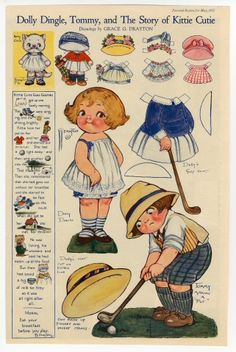 Dolly Dingle, Tommy, and the Story of Kittie Cutie, 1922