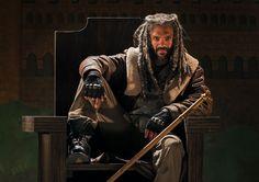 Ezekila (Khary Payton)-  The Walking Dead Season 7 First-Look Photos