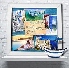 Kodak Moments:  - Highlight a postcard with vacation photos.