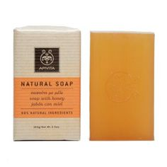 Apivita Natural Soap with Honey and a hint of lavender and sage