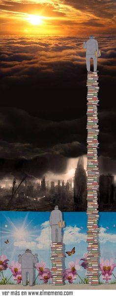 Una de las mejores imágenes que describe nuestra sociedad actual