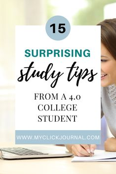 15 Study Tips for College by a 4.0 Student | online study tips | study tips for online classes High School Diploma Online, Student Online, Online College, Student Studying, College Students, How To Graduate Early, College Freshman Tips, How To Pass Exams, Study Board