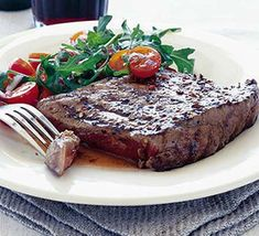 A new twist on classic peppered steak - so simple to prepare. This recipe serves 2, but is easily doubled