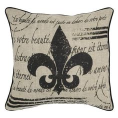 0844500830 featuring polyvore, home, home decor, home decorators collection, vintage style home decor and fleur de lis home decor