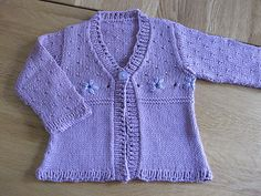 Ravelry: Project Gallery for Daisy Cardigans pattern by Sirdar Spinning Ltd.