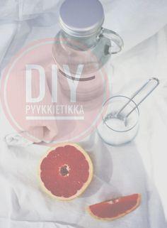 DIY PYYKKIETIKKA Grapefruit, Diy, Food, Bricolage, Essen, Do It Yourself, Meals, Homemade, Yemek