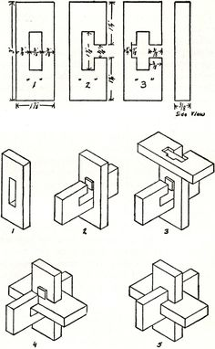Instructions for the puzzle table.