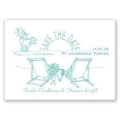 Sunny Shore - Marine - Save The Date   Invitations By David's Bridal