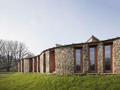 IvyCottage, External, Undulating Facade, Devon, Architecture