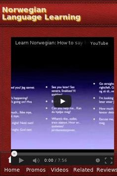 Norwegian Language Learning The unofficial Norwegian Language Learning app.Recent Videos • Norwegian Language: Remembering Words and Phrases (Part 1) • Learn Norwegian: How to say hello and goodbye! • Learn Norwegian! Lesson #1 • Learn Norwegian - Greeting Phrases & How To Introduce Yourself • How to Speak Norwegian! Basic Language Guide - Learn Norwegian • Learn Norwegian - Norwegian in Three Minutes - How to Introduce Yourself in Norwegian • Learn: ...