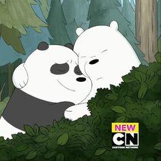 We Bare Bears Wallpapers, Panda Wallpapers, Cute Cartoon Wallpapers, Cute Panda Wallpaper, Bear Wallpaper, Bear Gif, Cute Bear Drawings, Brother Bear, Disney Phone Wallpaper