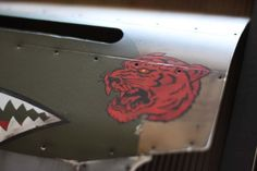 BATTLEGROUND STUDIO | P-40 Red Tiger | Online Store Powered by Storenvy