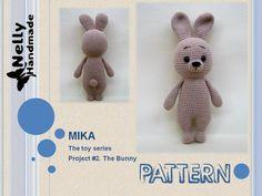 Crochet Amigurumi PATTERN: Bunny Mika Crochet Tutorial