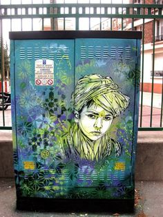 They should paint all electrical boxs like this!!