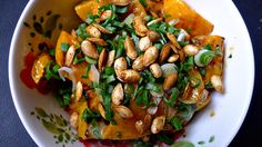 Roasted Winter Squash & Seed Salad