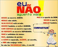 Regrinhas básicas do bom e velho Português