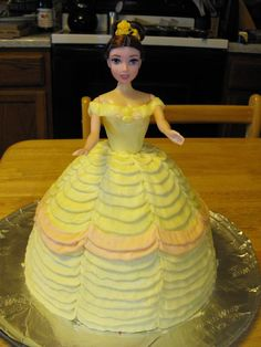 Belle (Beauty and the Beast) Party - Mikayla would LOVE this!!  Hopefully she's still into her next year