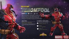 Venompool in Marvel Contest of Champions