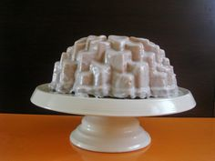 una chispa de dulzura: Bundt cake de limon y lavanda
