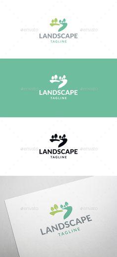 Wild Landscape Logo - Nature Logo Templates