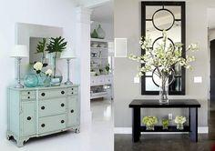 Cómo decorar un recibidor en un espacio pequeño - http://www.decoora.com/como-decorar-un-recibidor-en-un-espacio-pequeno/