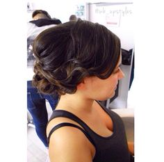Wedding hair / prom hair #wb_upstyles