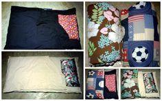 Tutorial para hacer un saco de dormir paso a paso. Ver la publicación completa en: http://blog.detallefemenino.com/2016/01/sleeping-bag-colchoneta-o-saco-de.html