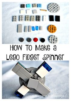 How my 9 year old son made his Lego Fidget Spinner with Lego's he already had http://mamato5blessings.com/2017/05/son-made-lego-fidget-spinner-lego/