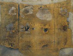 Antoni Tapies  Oil & sand on canvas