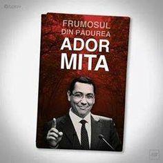 Victor Ponta, frumosul din padurea ADOR MITA. Abu Dhabi, In This Moment, Cover, Funny, Books, Life, Vienna, Libros, Book