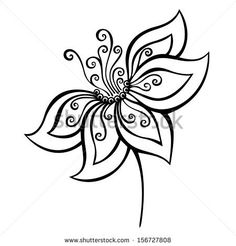 Draw Flower Patterns flower More - Doodle Patterns, Zentangle Patterns, Flower Patterns, Embroidery Patterns, Flower Pattern Drawing, Doodle Borders, Zentangles, Doodle Drawings, Doodle Art