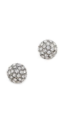 Juliet & Company Pave Crystal Earrings | SHOPBOP