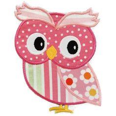 Girl Owl Machine Embroidery Applique by SimplySweetEmbroider Owl Applique, Applique Templates, Machine Embroidery Applique, Applique Patterns, Applique Quilts, Applique Designs, Quilt Patterns, Owl Templates, Motifs D'appliques