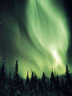 Aurora Borealis, Canada This both scares me and fascinates me at the same time.
