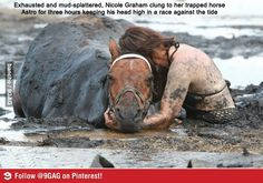 Faith in humanity restored...I would do this for my horse.