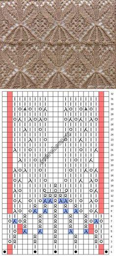 Схема к японскому ажуру...♥ Deniz ♥.