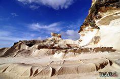 Kapurpurawan, Limestone Rock Formation, Ilocos Norte
