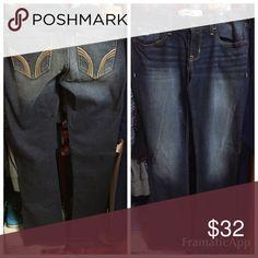 Denim jeans Denim jeans Hollister Pants Boot Cut & Flare