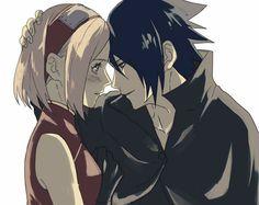 Sasuke and Sakura Uchiha Wallpaper ♥♥♥  #Love #Couple #Family #SasuSaku #Powerful #Suffering