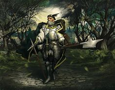 """Check out new work on my @Behance portfolio: """"Knight"""" http://be.net/gallery/52547403/Knight"""